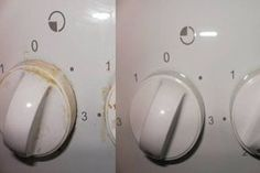 Learn how to remove grease and dirt deposited on the stove's handles without using chemicals.