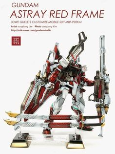 MG 1/100 Gundam Astray Red Frame - Customized Build
