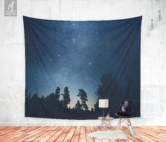 Decorate your wall with this beautiful and popular wall tapestries by HappyMelvin.  Wall tapestries that feature the original photography and graphics by Ulf Härstedt aka. HappyMelvin. Almost all tapestries are trying to capture the feel of adventure, wanderlust and the beauty of our nature. Trying to bring wanderlust into our homes with beautiful home decor.  - available three sizes 51 x 60 , 68 x 80 , 88 x 104  - ALL SIZES ARE DESCRIBED as follows, Tall x Wide (51 tall x 60 wide, and so…