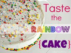 Rainbow Swirl Cake from @KatrinasKitchen