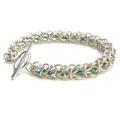 Crystal Elf Weave Bracelet