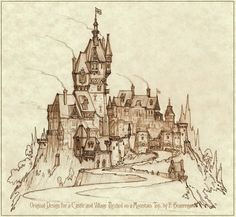 Castle and Village by Built4ever.deviantart.com