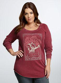 22661980cec La Calavera Tunic Sweatshirt