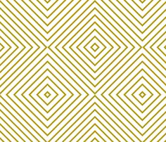 gold diamonds fabric by anjrogers0804 on Spoonflower - custom fabric