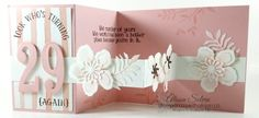 Fun Fold Card using Botanical Blooms Stamp Set