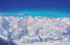 Amazing. Serfaus, Fiss, Ladis.  Vijf jaar achyer elkaar ski vakantie waarvan 3 keer met vrienden, heerlijk oort, veel lol gehad