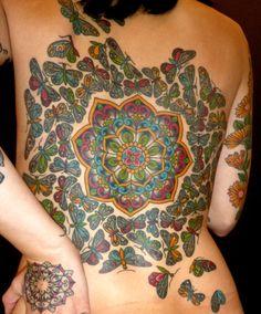 Butterfly back piece