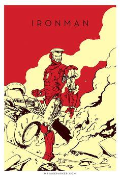 Iron Man - Jake Parker