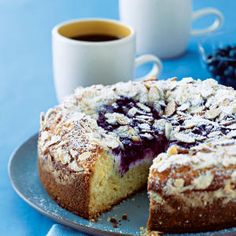 Blueberry-Cream Cheese Coffee Cake