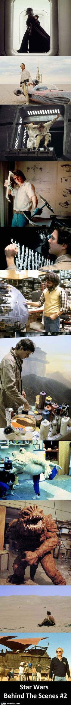 Star Wars Behind The Scenes #2
