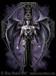 Anne Stokes Angels | Angels art gallery - angels pictures and images