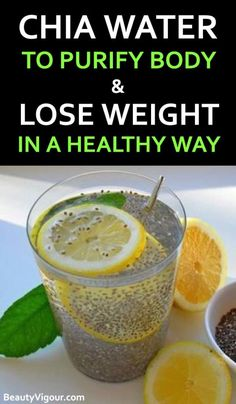 Chia is a powerful product, capable of purifying the body and make you healthily lose weight. Chia is a powerful