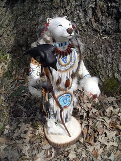 Spirit Bear Manitou spirit or totem by FreedomGallery on Etsy