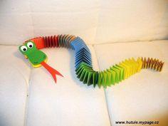 Zvířátka pro vnuka: Velmi jednoduché, stačí zakoupit barevný papír a lepidlo. Doma ur