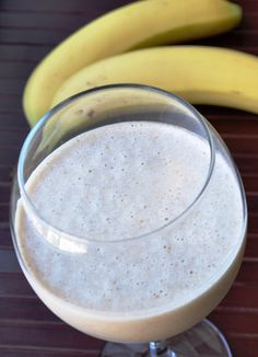 pb & banana smoothie - it was perfect this morning!