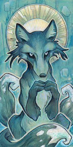Kitsun E. Coyote (SUPER GENIUS!) : art by one of my favorite artists, Ursula Vernon. She kicks ass.