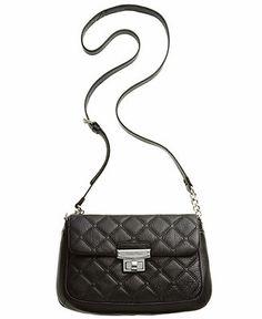 Calvin Klein Geneva Quilted Pebble Crossbody - Crossbody & Messenger Bags - Handbags & Accessories - Macy's