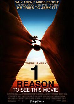 Honest Movie Titles...     Oscar Nominees 2011: 127 Hours, starring James Franco