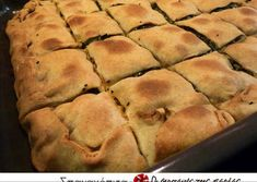 Sweets Recipes, Wine Recipes, Cooking Recipes, Desserts, Savory Muffins, Cheese Pies, Greek Cooking, Kitchen Stories, Spanakopita