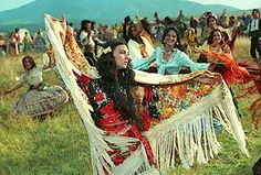 Rada was free, and she inspired the women around her to dance and be free as well...she would choose her love, and her lifestyle, and in that she is an icon of feminine freedom in a culture (even gypsy tribe) which usually subjugates women