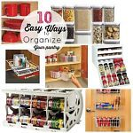 Easy tips to organize your pantry!