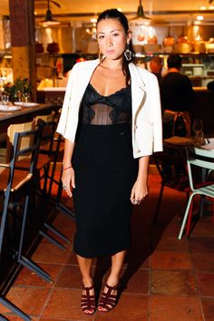 Jen Brill at the Jen and Oli Cole Haan Dinner