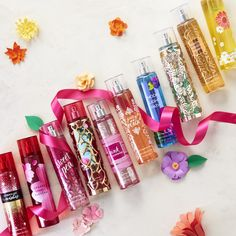 Shop fine fragrance body sprays and mists from Bath & Body Works. With wide variety of scents, they'll all be on your wish list soon. Bath N Body Works, Bath And Body Works Perfume, Freebies By Mail, Body Treatments, Body Lotions, Body Spray, Smell Good, Fragrance Mist, Body Care