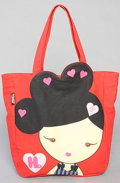 "Harajuku Lovers ""Love"" tote"