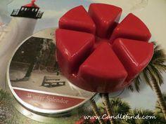 Wax Melt Review: Winter Splendor, Goose Creek Candle Company 4.5/5 #waxmelts #waxtarts #scentedwax #goosecreekcandle #candlereview