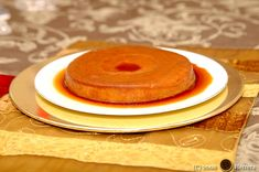 My First Flan on TV! Back in 2008 -- traditional Cuban flan