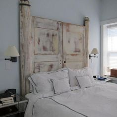 Perfect Www.digsdigs.com 27 Calm And Relaxed Whitewashed Headboards ·  BettEinrichtungIdeen KopfteilSelbstgemachte ... Nice Design