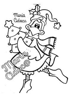 Riscos graciosos (Cute Drawings): Riscos de aves (galinhas, patos e pássaros) (Chickens, ducks, ducklings and birds)
