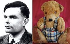 "Alan Turing's teddy bear ""Porgy"""
