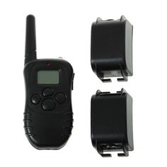 ElementDigital(TM) Lovely Rechargeable Wireless LCD Digital Dog Smart Electric Training Shock Collar