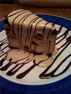 Kahlua Ice Cream Pie from On the Border Restaurant.  One of my most favorite desserts ever.