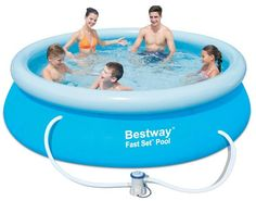 Bestway Zwembad Fast Set (305x76), inclusief pomp