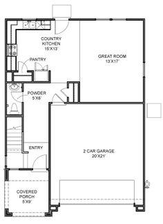 Pulte Homes Quartz Floor Plan Via