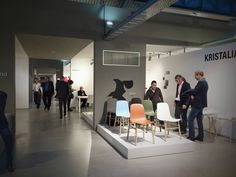 Live from Design Post during Orgatec. #Sharky #chair at Koln Design Post