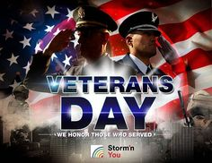 Since 1919 every 11th of November, Americans honor those who fought for their country or served in the United States Armed Forces with spirit of patriotism, love and commitment.  Veterans are thanked for their services to the United States on Veterans Day.  StormnYou would like to thank Veterans for offering their life to the service of our country!!!! #StormnYou #YourSolutionProvideForLightningPrevention #StormnGolf #StormnSports #StormnProperties #StormnEvents #Veteransday #Memorable…