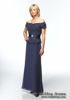 Grandmother Of The Bride Dresses | cheap grandmother of the bride dresses online : deep blue A Line Skirt ...