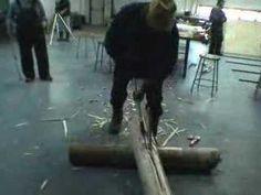 Snowshoe Making 1