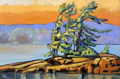 Canadian Painting  New Release, painted  by Jerzy Werbel  www.werbeland.ca   Algonquin Park, Ontario ,Canada,