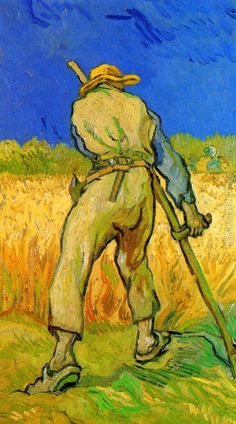 The Reaper (after Millet) Vincent Van Gogh Reproduction   1st Art Gallery