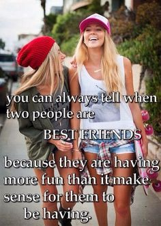 This is totally me and my best friend if you give us a spray bottle filled with water it's entertainment for hours. We are weird :) Best Friends Sister, Dear Best Friend, Best Friends For Life, Best Friend Goals, Best Friends Forever, True Friends, Best Friend Things, Besties Quotes, Life Quotes Love