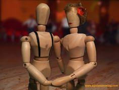 El estilo personificado a la hora de calentar y estirar. Suzie & Tommy, unos verdaderos cracks...    :)