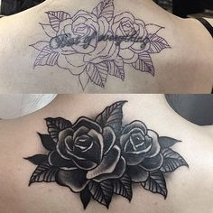 Tattoo rose skull life 65 ideas for 2019 Tattoo rose skull life 65 ideas for 2019 This image Black Rose Tattoo Coverup, Rose Tattoo Cover Up, Black Tattoo Cover Up, Black Rose Tattoos, Cute Tattoos, Flower Tattoos, Body Art Tattoos, Small Tattoos, Tattoos For Guys
