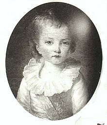Louis Joseph, Dauphin of France was the second child and first son of King Louis XVI of France and Marie Antoinette, he died at age eight of a quick illness