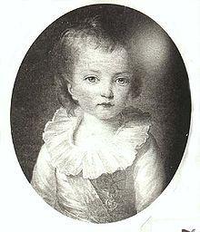 Luis José de Francia fue el segundo hijo y primer hijo del rey Luis XVI de Francia y María Antonieta, que murió a los ocho años de una enfermedad rápida