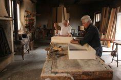 Artigiani al lavoro in Brianza