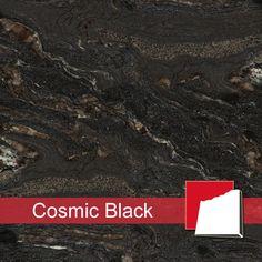 Granitfliesen Cosmic Black